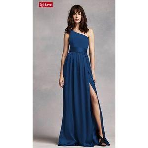 Vera Wang One Shoulder Bridesmaid Dress